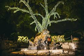 san antonio tree lighting 2017 san antonio zoo zoo lights