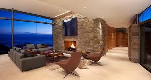 family room with sectional and fireplace architecture warm otter cove residence living room with fireplace