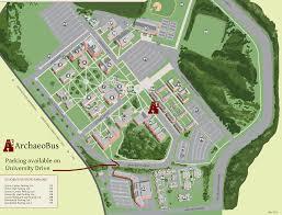 Unt Parking Map Past Events Digging Savannah