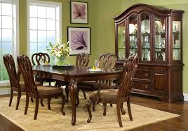 Ashley Dinner Dining Rooms - Oak dining room sets with hutch
