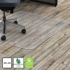 Chair Mat For Hard Floors Lorell 69708 Hard Floor Rctnglr Polycarbonate Chairmat Hard Floor