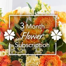 flower subscription 3 month flower subscription edinburgh flower shop