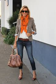 fancy casual its for a orange scarf casual fall and