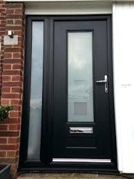 Frosted Glass Exterior Doors Stunning Decoration Modern Glass Exterior Doors Contemporary Front