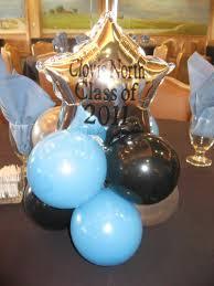 balloon arrangements for graduation balloon decor of central california graduation reunion