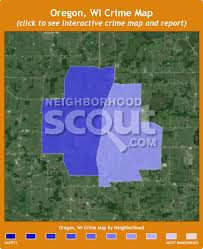 map of oregon wi oregon wi 53575 crime rates and crime statistics neighborhoodscout
