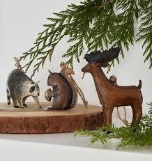 painted woodland creatures ornament rejuvenation