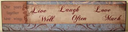 live laugh love wooden wall decor shenra com hanging sign live well laugh often