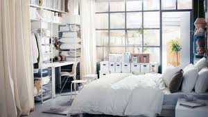 Kitchen And Bedroom Design by Bedroom Ideas Ikea White Bed With Drawers In A Large Bedroom With