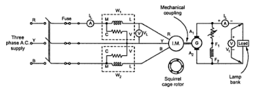 load test on 3 phase induction motor circuit diagram efcaviation com
