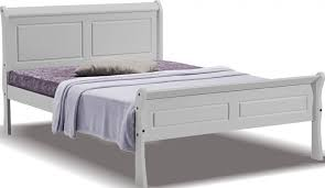 Grey Bed Frame Georgina Grey Sleigh Bed Frame