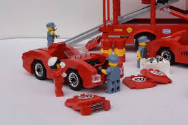 ferrari lego shell lego ideas ferrari racing team from the fifties