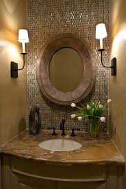 Half Bathroom Decor Ideas Captivating Half Bathroom Tile Ideas With Small Half Bathroom