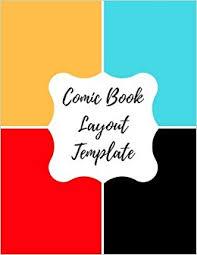 comic book layout template blank empty cartoon strips 8 5 x 11