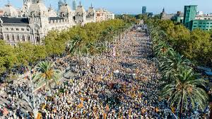 catalonia u0027s national day demonstration a prelude to the
