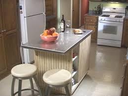 Kitchen Island Countertop by Kitchen Stainless Steel Kitchen Island With Butcher Block