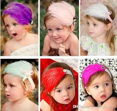 feather headbands baby feather headbands baby girl feather hair ornaments shining
