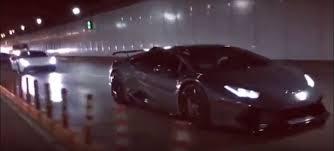 lamborghini huracan vs 458 guess which car gets humiliated in tunnel rev battle huracan 458