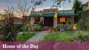 Los Feliz Real Estate by Home Of The Day An Eclectic Craftsman Hybrid In Los Feliz La Times
