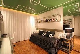 Modern Football Bedroom Theme Design And Decor Ideas For Men - Football bedroom ideas