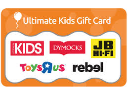 gift cards for kids 50 ultimate kids gift card australia post shop