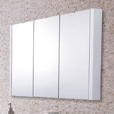 home decor slimline mirrored bathroom cabinets wall mounted