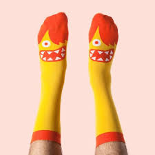 silly socks gift idea for science chattyfeet socks