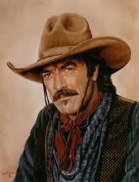 the last cowboy oil portrait painting portraits artist rick