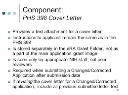 nih grant cover letter grant proposal cover letter sample the