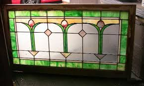Vintage Transom Windows Inspiration 1920 S Chicago Bungalow Stained Glass Transom Window Stained