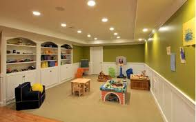 Cool Finished Basements Sweet How Much To Finish Basement Modest Design Basement Finishing