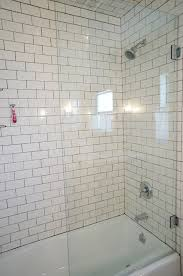 Half Shower Doors New Half Glass Shower Door Diana Elizabeth