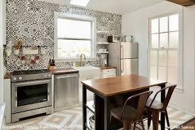 12 stunning ideas for stenciling a diy kitchen backsplash design
