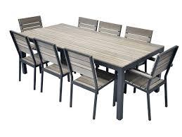 mobilier de jardin en solde ensemble jardin resine tressee pas cher table en meuble pour