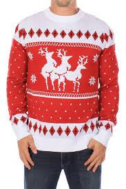 reindeer menage a trois sweater tipsy elves
