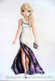 chambre top model dress design by oliwiawera2001 topmodel