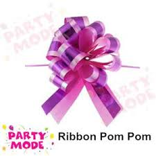 pull ribbon poly gift wrap pom pom pull bow flo end 10 24 2015 1 15 pm