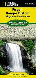 carolina trails illustrated maps trail maps