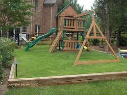 Backyard Playground Slides Creating The Perfect Backyard Playground The Perfect Backyard