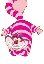 cheshire cat clipart alice wonderland pencil color