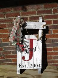 wooden pallet sled personalized decoration handmade
