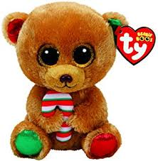 ty beanie boo plush mac mouse 15cm christmas exclusive