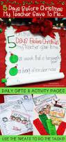 christmas activities u0026 countdown gifts 5 days before christmas