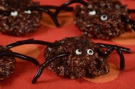 chocolate spiders recipe joyofbaking com video recipe