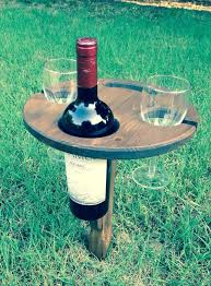 outdoor wine glass holder table folding outdoor wine table picnic table currently backordered by