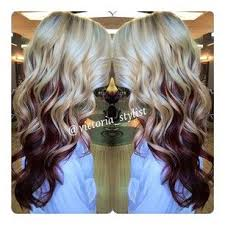 blonde and burgundy hairstyles red blonde brown hair fabulous hair pinterest red blonde