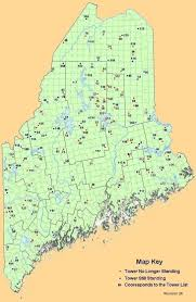 Winthrop Washington Map by Maine Fire Lookouts State Listing Page