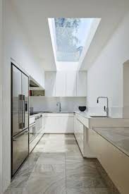 Marvellous Galley Kitchen Lighting Images Design Inspiration Marvelous Galley Kitchen Design Glass Kitchen Ceiling See Trough