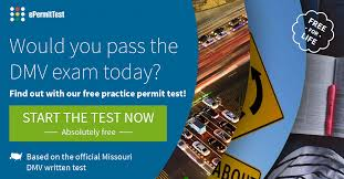 missouri drivers license renewal road sign test mo 2017