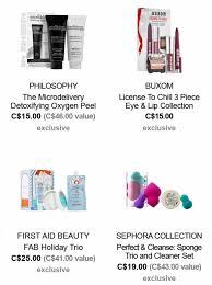 sephora black friday deal sephora canada black friday sale deals 2016 canadian freebies